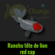 ranchu red cap tête de lion